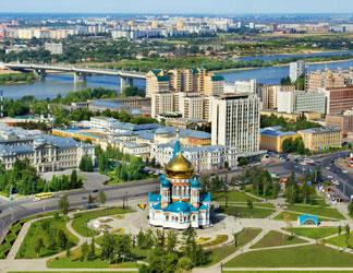 Билеты на самолет Москва - Омск