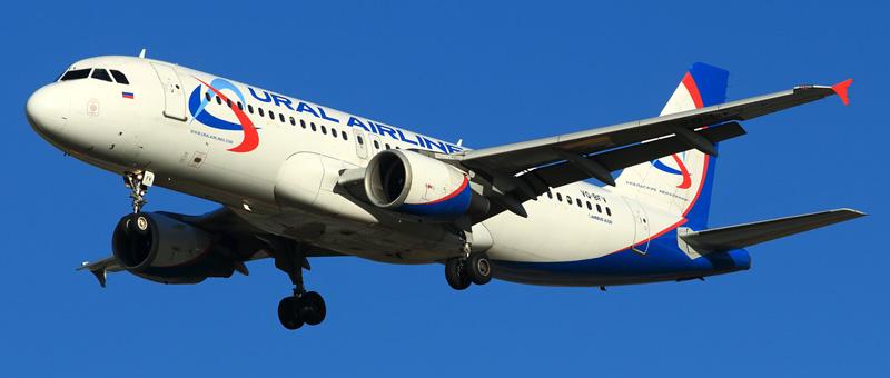 """Airbus A320 """"Уральские авиалинии"""". Фото, видео и описание самолета."""