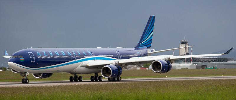 Azal Azerbaijan Airlines Airbus A340-600