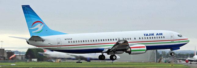 Boeing 737-400 Tajik air
