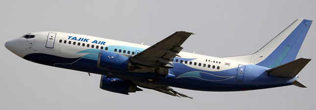 Boeing 737-300 Tajik Air