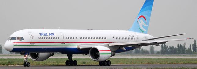 Boeing 757-200 Tajik Air