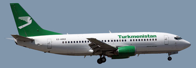 Boeing 737-300 Туркменские авиалинии