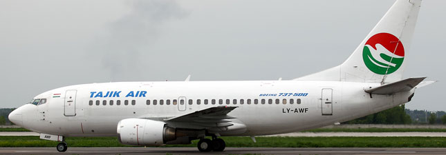 Boeing 737-500 Tajik Air