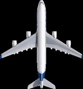 Размах крыла A340-300
