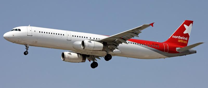 Airbus A321-200 Nordwind Airlines. Фото, видео и описание