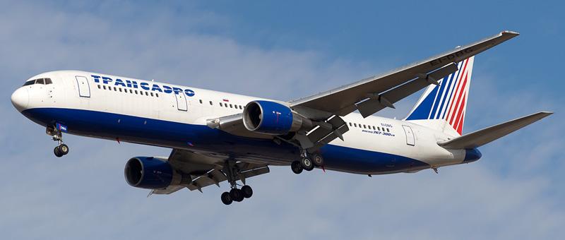 Фотографии Boeing 767-300ER (Боинг 767-300) — Трансаэро