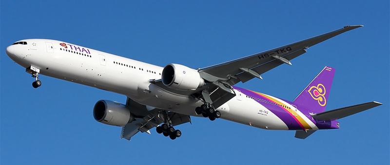 Схема салона Boeing 777-300 Тайские авиалинии. Лучшие места в самолете