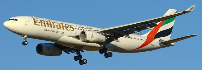 Airbus A330-200 Emirates