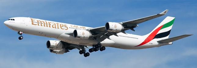 Airbus A340-500 Emirates