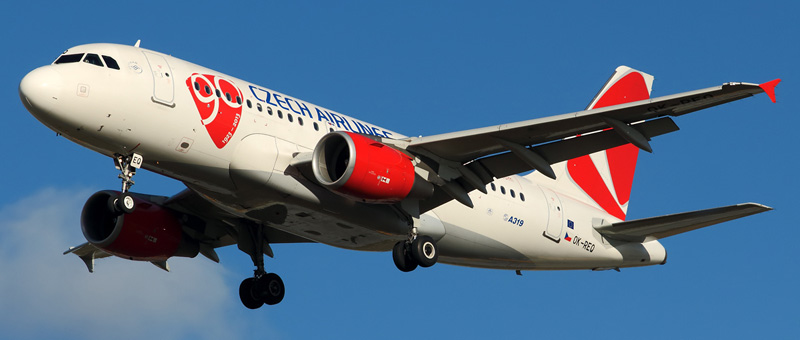 Airbus A319-100 Czech Airlines