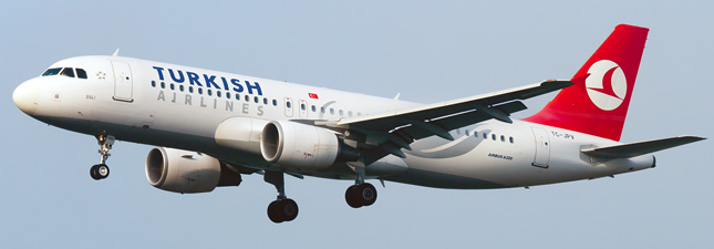 Airbus A320-200 Turkish Airlines