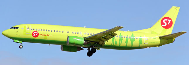 Boeing 737-400 (Боинг 737-400) — S7 Airlines. Фотографии и описание