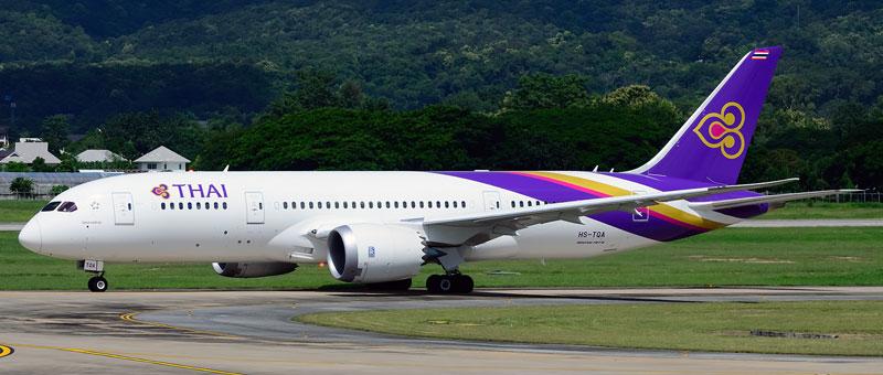 Thai Airways Boeing 787-800 Dreamliner