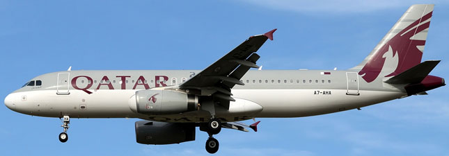 Airbus A320-200 Qatar Airways