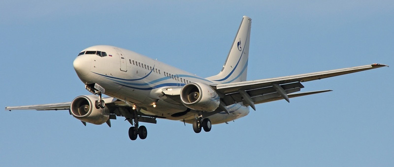Boeing-737-76N газпромАвиа
