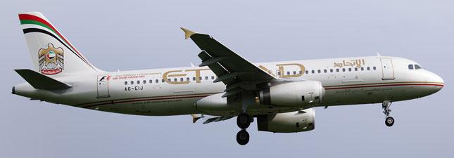 Airbus A320-200 Etihad Airways