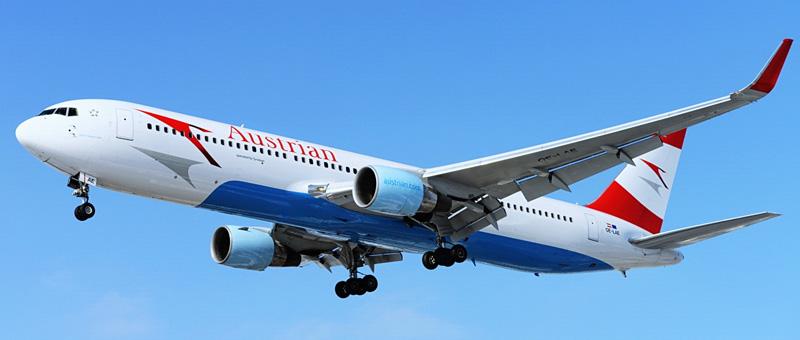 Boeing 767-300 Австрийские авиалинии