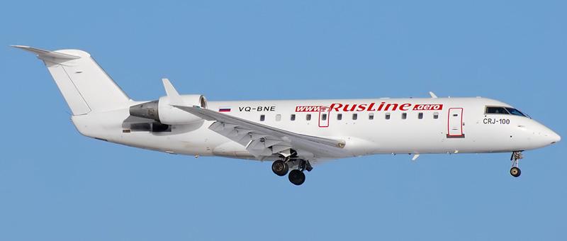CRJ 100ER Руслайн