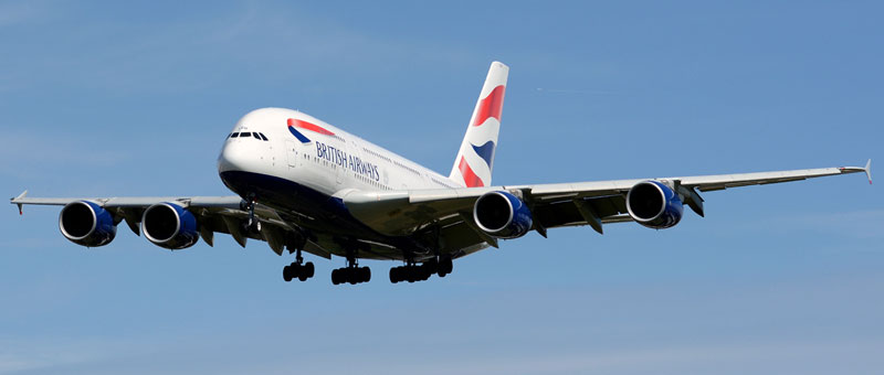 British Airways Airbus A380-800
