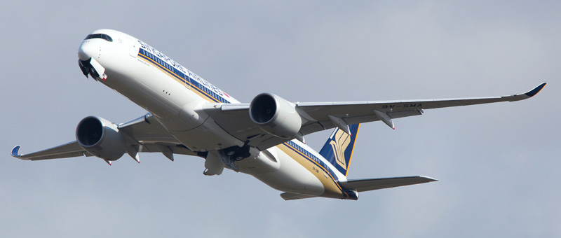 Airbus A350-900 Singapore Airlines