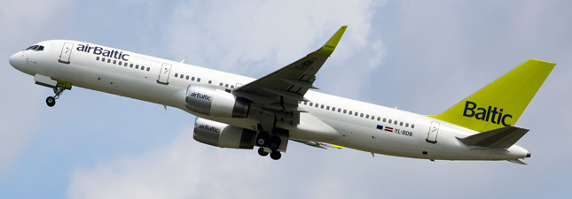 Boeing 757-200 Air Baltic