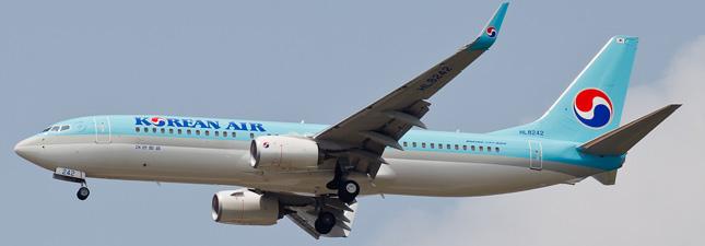 Boeing 737-800  Korean Air Lines