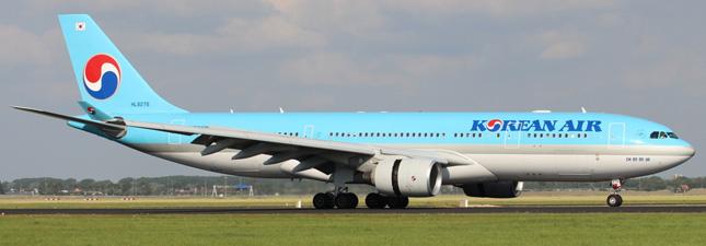 Airbus A330-200  Korean Air Lines