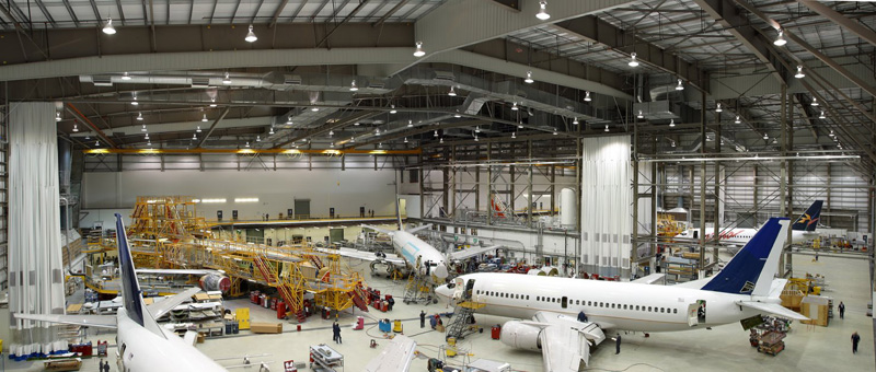 Сервисное и техническое обслуживание самолетов
