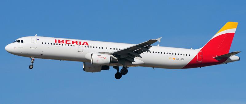 Airbus A321-200 Iberia