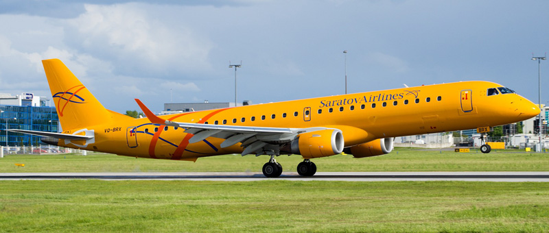 VQ-BRX-Saratov-Airlines-Embraer-ERJ-195