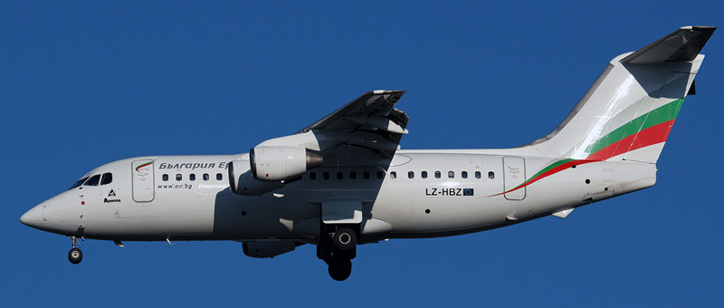 Bulgaria Air British Aerospace 146-200