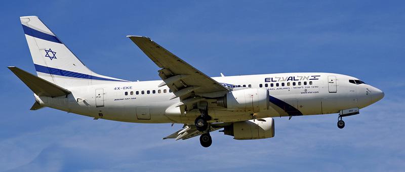Boeing 737-700 El Al