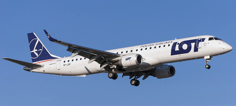 SP-LNF-LOT-Polish-Airlines-Embraer-ERJ-195