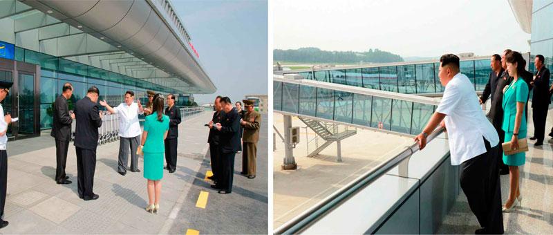 Современный терминал в Пхеньяне