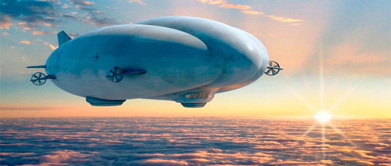 В России планируют построить высокотехнологичный дирижабль