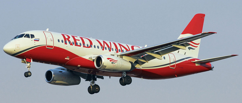 Сухой Суперджет 100 – Red Wings. Фотографии и описание самолета