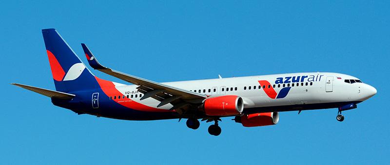 Boeing 737-800 Azur Air