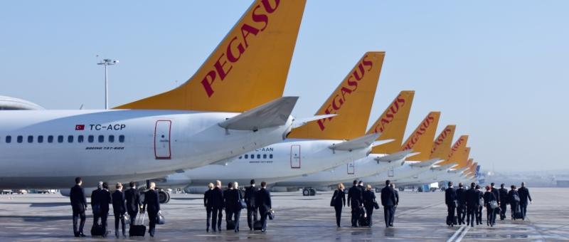 Полеты Pegasus Airlines в Россию приостановлены