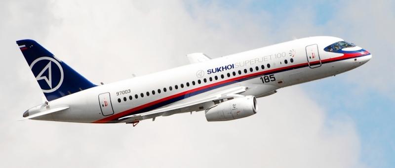 SSJ 100 будут использоваться во Франции и Египте