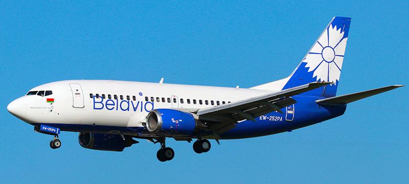 Boeing 737-500 Белавия. Фото и описание самолета