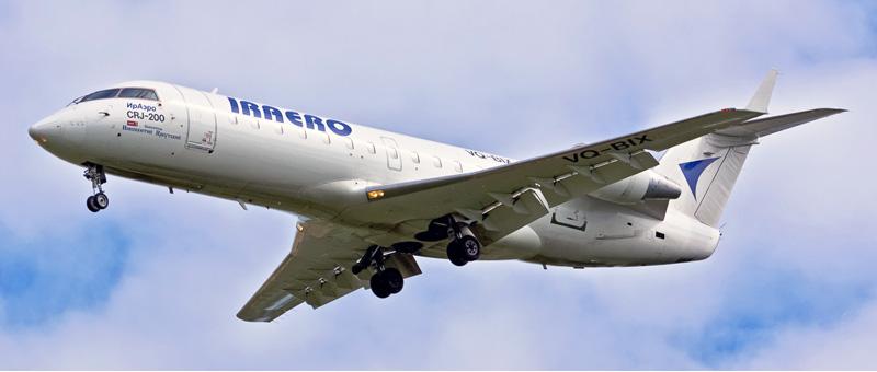 Canadair CRJ-200 ИрАэро. Фото, видео и описание самолета
