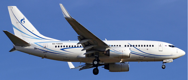 Boeing 737-700 Газпром Авиа. Фото, видео и описание самолета
