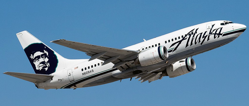 Boeing 737-700 Alaska Airlines