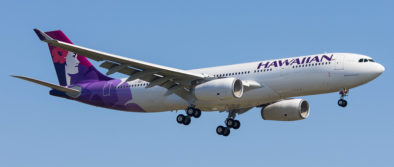 Airbus A330-243 Hawaiian Airlines