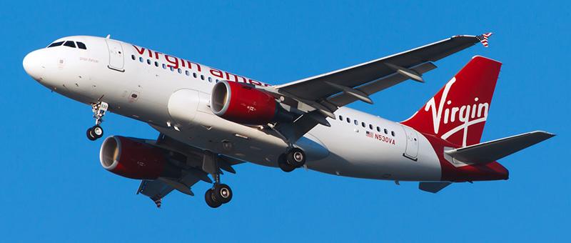 Airbus A319-100 Virgin America