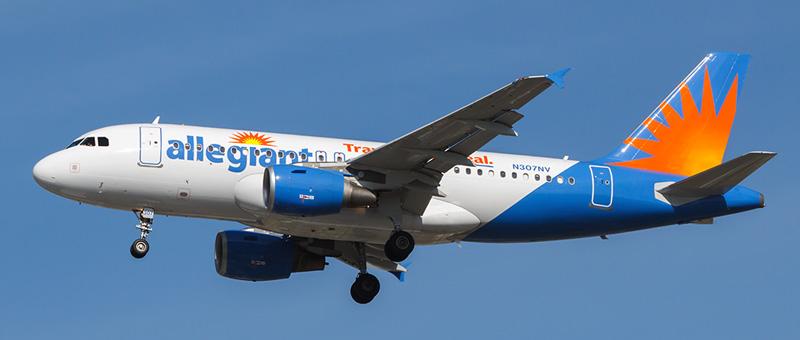 Allegiant Air Airbus A319-100