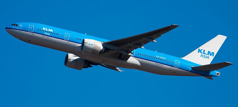 KLM Boeing 777-200