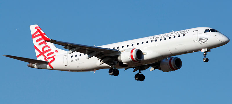 Embraer-190AR Virgin Australia