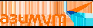 Логотип Азимут